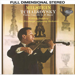 P.S.O. / Nathan Milstein: Tchaikovsky - Violin Concerto in D Major, Op. 35   (Cisco Music / Capitol)