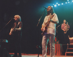 Ian Hunter, Roger Hodgson & Mark Rivera at The Fox Theater - 8/21/01