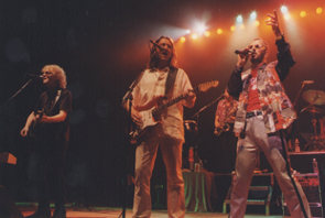Ian Hunter, Roger Hodgson, Mark Rivera, & Ringo Starr at The Fox Theater - 8/21/01