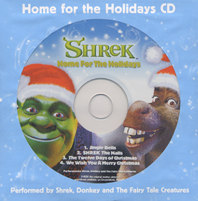SHREK, DONKEY & THE FAIRY TALE CREATURES - Home for the Holidays (available exclusively at Wal-Mart)