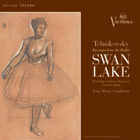 ROYAL OPERA HOUSE ORCHESTRA - MOREL: Tchaikovsky - Swan Lake (Excerpts) (Classic Records / RCA Victrola)